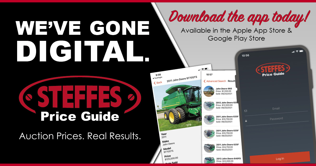 Steffes Price Guide App